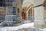 ingang Sint-Vituskathedraal