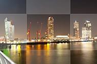 Rotterdam avond sfeer