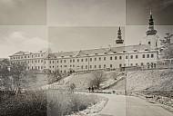 Strahov klooster sepia